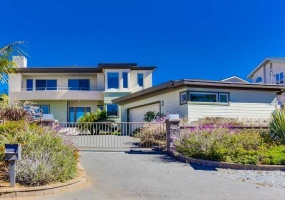Private and gated on one of Old Carlsbad's greatest coastal streets